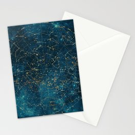 Under Constellations Stationery Cards