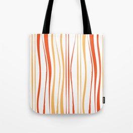 Orange Tree Lines Tote Bag