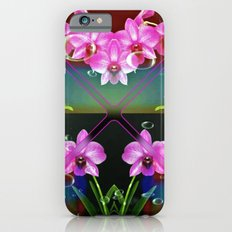 Charming Orchids Slim Case iPhone 6s