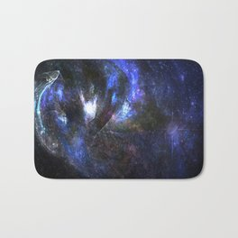 Galaxy abstract Bath Mat