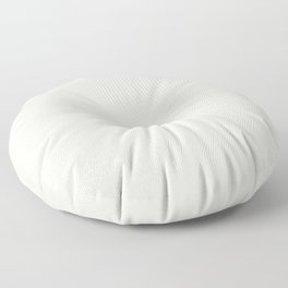 Warm Cream Solid Color Inspired by Behr Snowy Pine PPU10-13 Floor Pillow