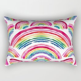 RAINBOWS ABOUND Rectangular Pillow