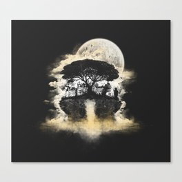 Spring of Life Canvas Print