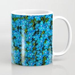 Blue sakura forest  tree so meditative and calm Coffee Mug