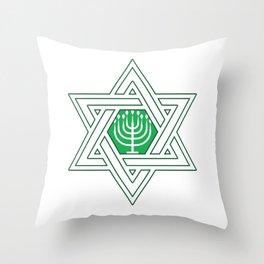 Israel Jews Menoa Jew It Funny Faith Gift Throw Pillow