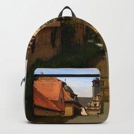 Medieval Village Reflection Backpack