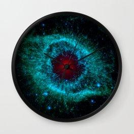 Comets Kick up Dust in Helix Nebula Wall Clock