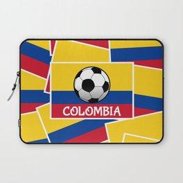 Colombia Football Laptop Sleeve