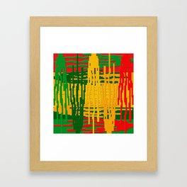 Crayon Invaders Framed Art Print