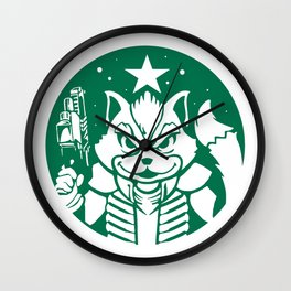 Starfox Coffee Wall Clock