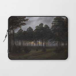Caspar David Friedrich - The Times of Day - The Evening Laptop Sleeve