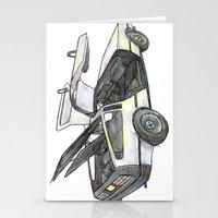 delorean Stationery Cards featuring DMC - Delorean by dareba