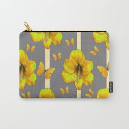"""AMARYLLIS """"  LOVE OF BUTTERFLIES""""   DECO Carry-All Pouch"""