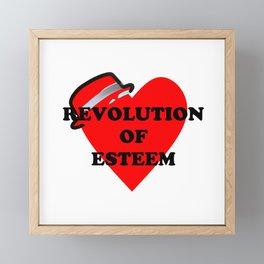 Revolution of esteem Framed Mini Art Print