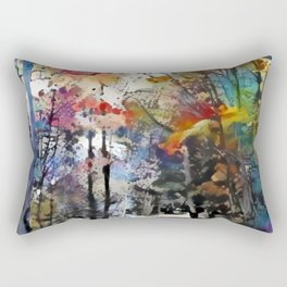 Sunday Walk Rectangular Pillow