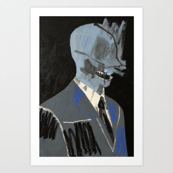 Salesman. 2015. Art Print