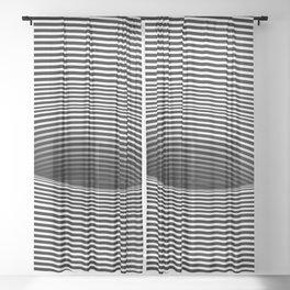 Black Hole Vertigo Sheer Curtain