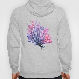 Fan Coral - Purple Hoody
