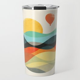 Let the world be your guide Travel Mug