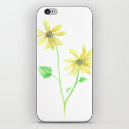 Simple Sunflower iPhone Skin