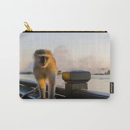 Curios monkey Carry-All Pouch