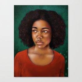 Vermilion Canvas Print