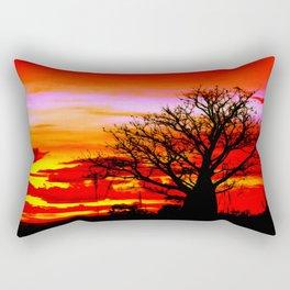 Fire n Boab Rectangular Pillow