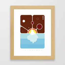 Idioteque Framed Art Print