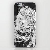 ellie goulding iPhone & iPod Skins featuring Ellie by Misha Libertee