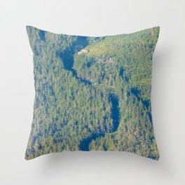 Shadow Creek Throw Pillow