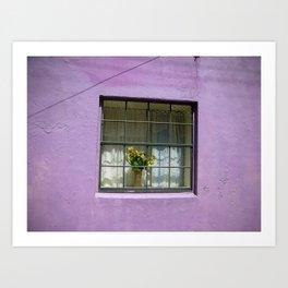 An Alley in Curacao Art Print