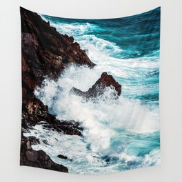 CONFRONTING THE STORM Wall Tapestry