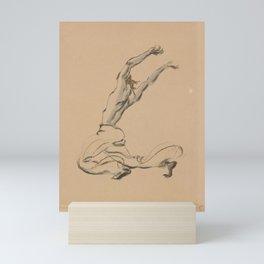 Grunenberg Arthur  Vaslav Nijinsky in Scheherazade Mini Art Print