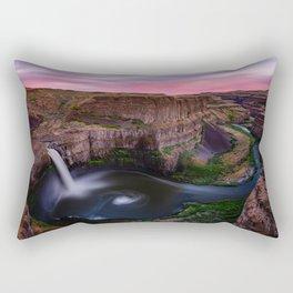 Palouse Falls Rectangular Pillow