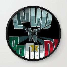 Coahuila y Tejas Pride Loud N Proud Wall Clock