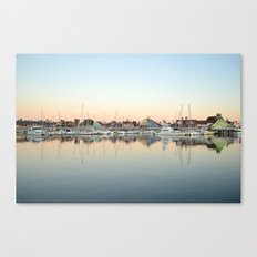 Marina Village  Canvas Print