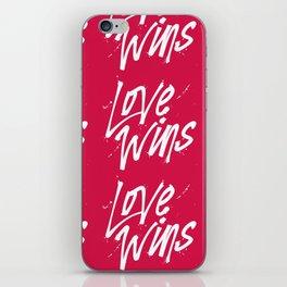 Love Wins iPhone Skin