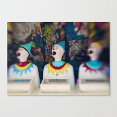 Send in the Clowns Canvas Print