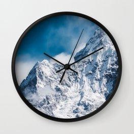 Ama Dablam Himalaya Mountain Wall Clock