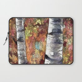 Aspen Trees Panorama Laptop Sleeve