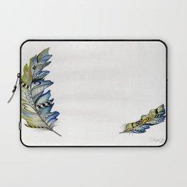 Winter Feather Laptop Sleeve