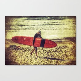 Red Board Canvas Print