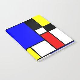 Mondrian Style Notebook