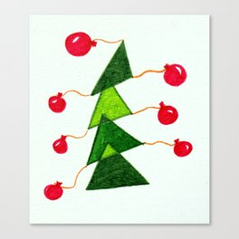 CHRISTMAS!! Canvas Print