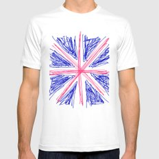 UK Mens Fitted Tee White MEDIUM