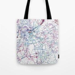 Louisville map Tote Bag