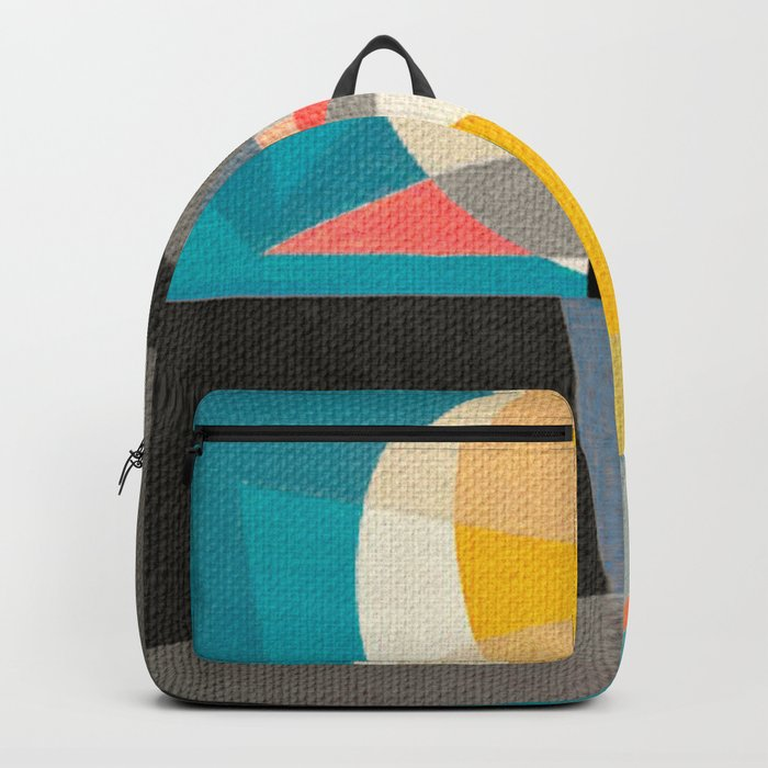 Sailing on the Canal Backpack
