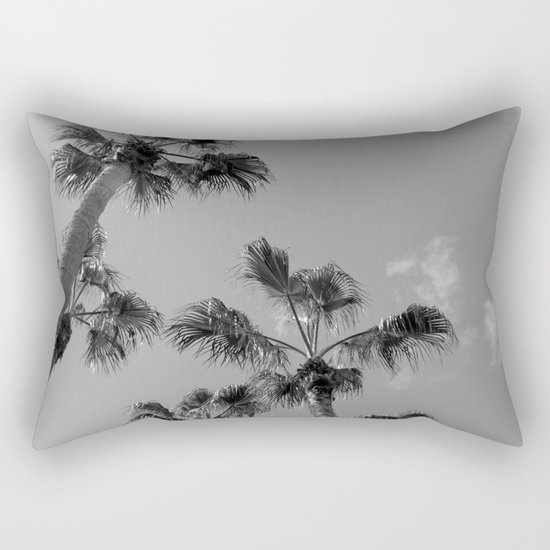 Palm Tress, Fuerteventura. Rectangular Pillow