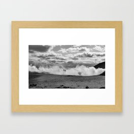 Through the Fog Framed Art Print