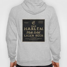 Old Harlem Lager Beer vintage advertisment poster Hoody